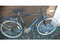 TOWNSEND MENS MOUNTAIN BIKE 🚴, 19 INCH FRAME 26 INCH WHEEL'S 18 GEARS, GOOD CONDITION