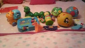 small bundle of baby toys £7 for quick sale , all batteries in, and in ex cond