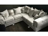 Lucy chesterfield corner sofa