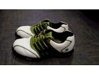 Pair of stuburt golf shoes size 9.5.