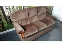 Sofa and armchairs for sale