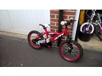 Kids Huffy Bicycle For Sale £40 ono