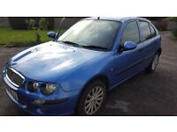 2004 ROVER 25 5 DOOR IMPRESSION S3 2 OWNERS MOT MARCH 2018 DRIVES GREAT