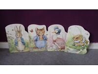 Peter rabbit shaped books set of 4
