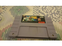 snes usa game cart scooby doo mystery