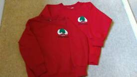 Arden Grove infant and nursery school jumpers