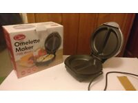 Non-Stick Cool Touch Dual Omelette Maker