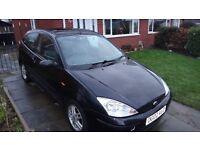 Spares & Repairs - 2002 3 door Black Ford Focus