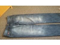 Boys Lee Cooper blue jeans size 13 years excellent condition