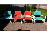 Garden Chairs set of 4