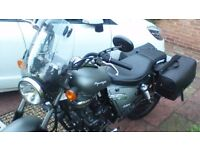 Great bike for beginners, 125cc, low mileage, extra's as per photo's included