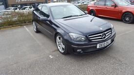 Mercedes-Benz CLC200 Automatic Sport Diesel Coupe in Black 2010