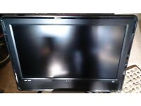 """LOGIC 32"""" LCD TV FREEVIEW 2 X HDMI CAN DELIVER."""