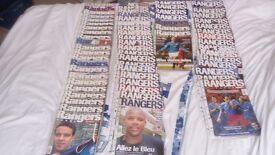 Official Rangers News Magazines 2003-2005 & Rangers Legends BOB McPHAIL Book