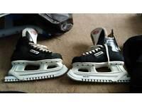 Ice hockey skates adult size 8