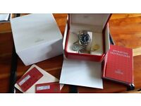Omega Seamaster Planet Ocean Automatic Watch. Stainless Steel.