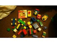 Bundle of play bloks and cars