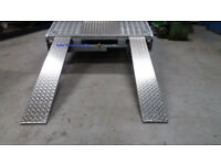 **8ft*50cm tradeplate Loading Ramps Ramp Recovery truck van trailer Extra Wide