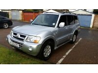 2003 Mitsubishi Shogun 3.2 DI-D Elegance 5dr Automatic ONE OWNER HPIClear @07445775115 @07725982426@
