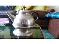 Teapot made of nickel silver, german origin