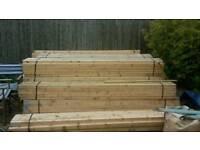 Framing dressed wood £2 per length