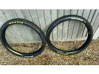 """Maxxis high roller 26"""" 2.35 tyres x2"""