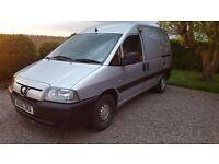 Peugeot Expert Van 2006 Silver 815 1.9D