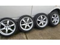 Nissan 350z rays alloys