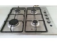 Bush gas hob for worktop (good as new)