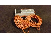 Camping book up cable (rcd)