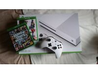 White Xbox One 500gb