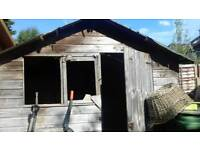 Garden shed approx 10ft x 7ft