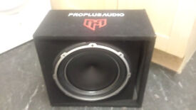 PROPLUS 12INCH SUBWOOFER BUILT IN AMPLIFIER
