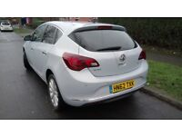 2012 VAUXHALL ASTRA ELITE 1.6 AUTO AUTOMATIC (not FIESTA, FOCUS, GOLF, MICRA, POLO, CLIO, YARIS, A3)