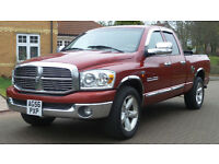 2007 56 DODGE RAM 1500 *HEMI*(USA)5.7CC PICKUP PART EX WELCOME*24 HOUR INSURANCE*WARRANTY*