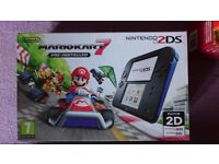 NEW Nintendo 2DS+ Mario Karat 7