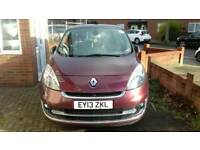 2013 Renault grand scenic. 7 seater. 1.5diesel. Automatic