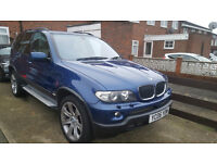 2006 BMW X5 D SPORT EDITION AUTO BLUE