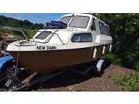 20 foot cabin cruiser with trailer