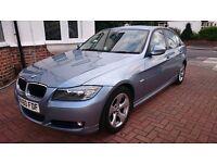 BMW 320d efficient dynamics £20 road tax, FSH, One year MOT, Leather Trim