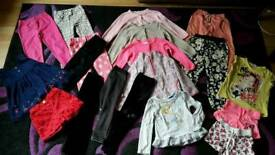Bundle of girls clothes 2-3y