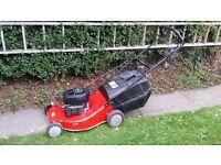 self propelled lawn mower cheap bargain