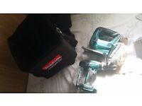 Brand new Makita combo set drill and jigsaw