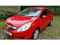 Vauxhall Corsa RED 1 litre Perfect for First Car 2008