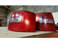 Rear lights for Audi A4 estate.2002.