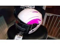 Ladies motorcycle helmet brand new