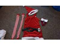 Christmas Mrs claus outfit