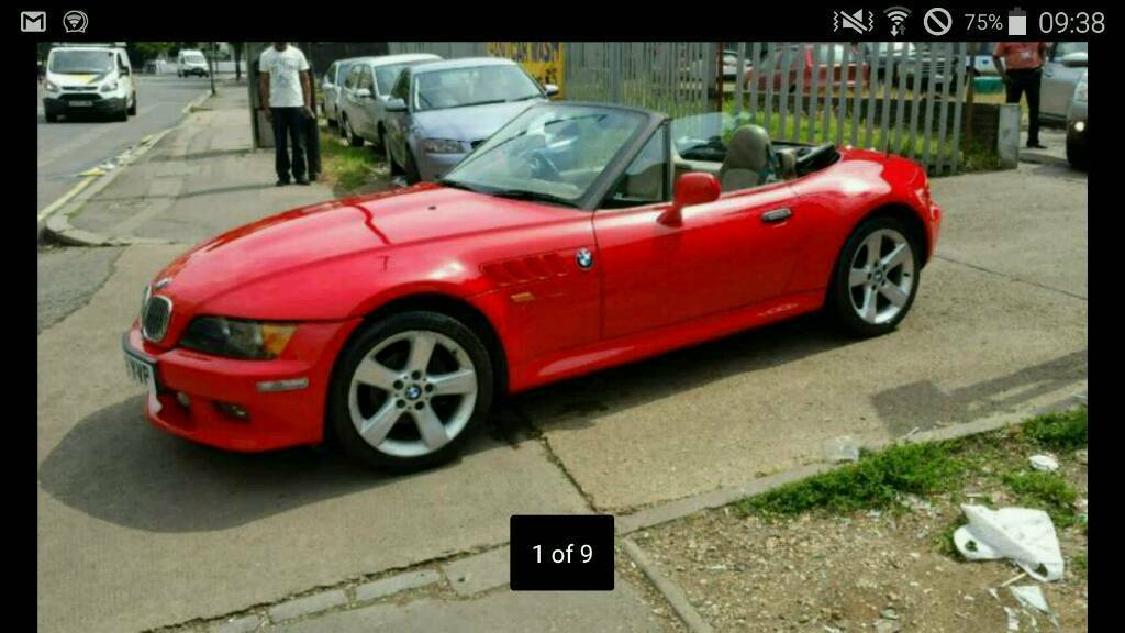 Bmw Z3 Wide Body 2 8 Roadster 2200 Onp In Kingsnorth