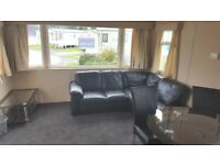 PRE-OWNED STATIC CARAVAN GAS CENTRAL HEATING DOUBLE GLAZED WHITLEY BAY COASTAL LOCAL SITE FEES INCL