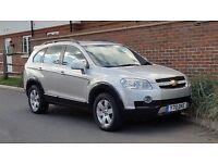 Chevrolet Captiva 2.0 (Diesel) CDTI LT 4X4 - 7 SEATER - (2009/09) + P/Plate + FSH + Met Silver +